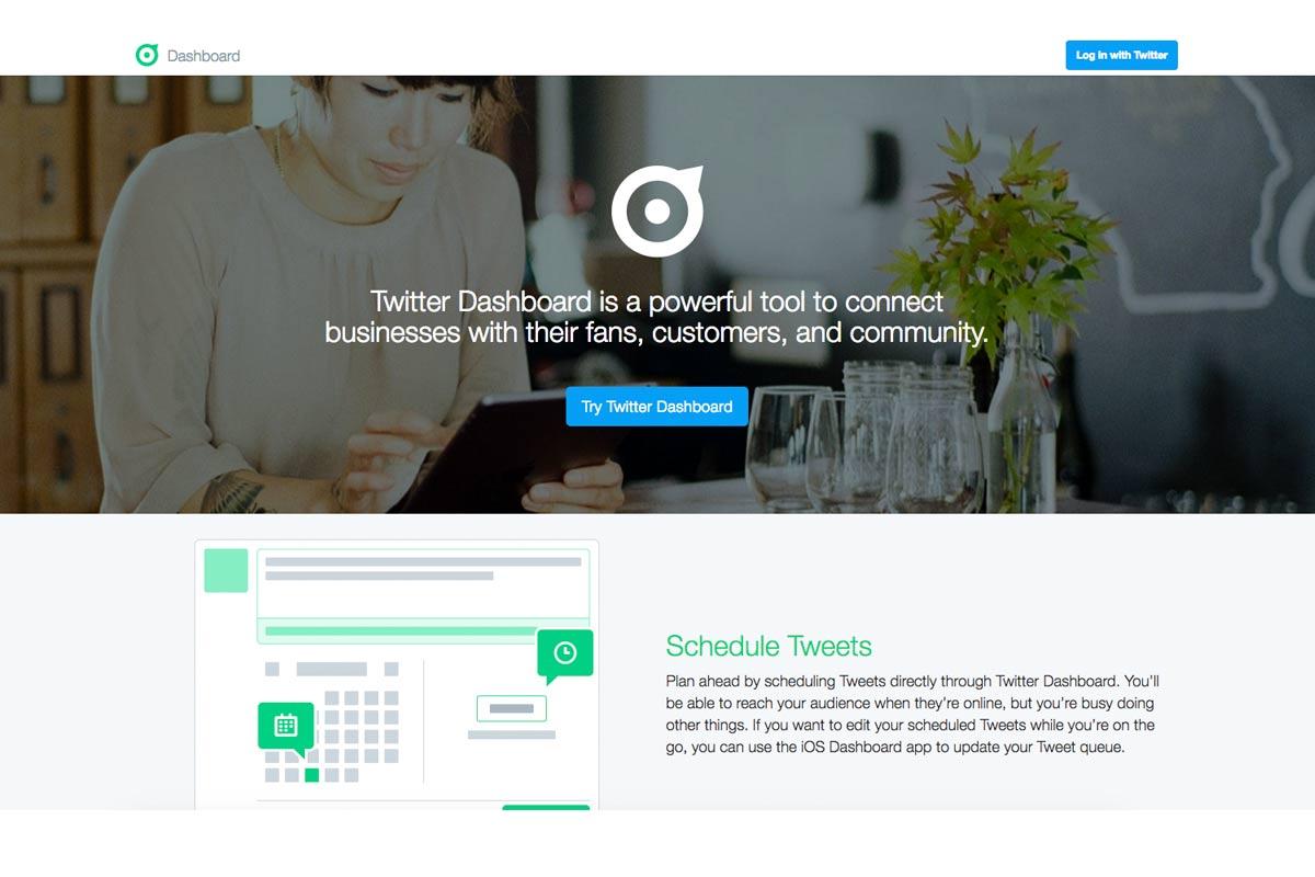Twitter quiere resurgir de sus cenizas con Dashboard